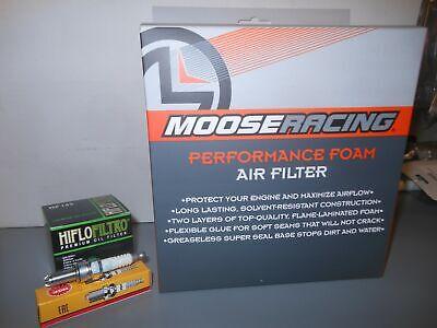 Oil Filter /& Spark Plug  YFM350FW YFM350U YAMAHA 87-99 Big Bear Air filter