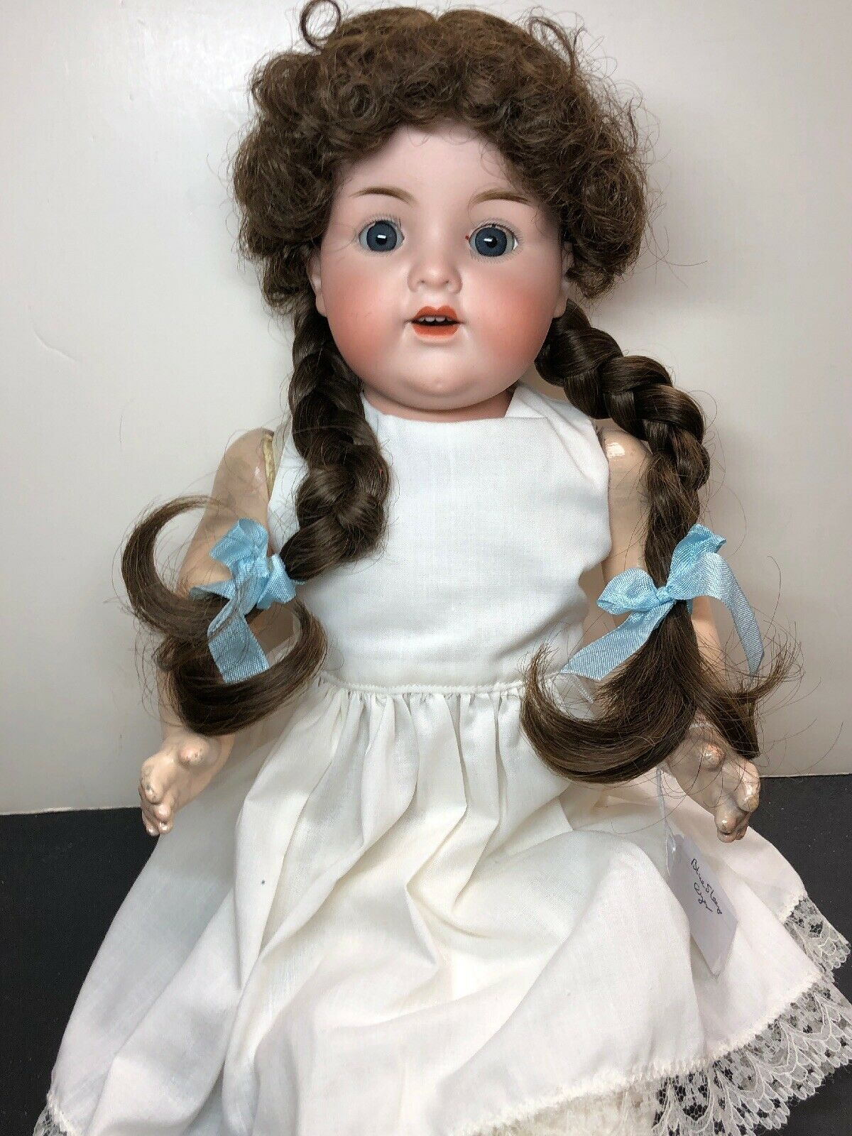 """20"""" Antique Armand Marseille Germany A & M Bisque """"Kiddie Joy"""" Repainted Arms"""