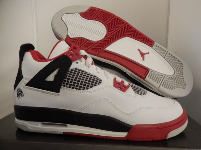 81a96f8fefe 2006 Nike Air Jordan 4 IV Retro GS Mars Blackmon Varsity Red 308498 ...