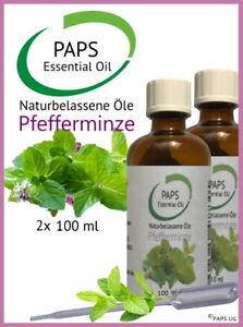PAPS-Pfefferminzoel-200ml-100-naturreines-zertifiziertes-aetherisches-Ol