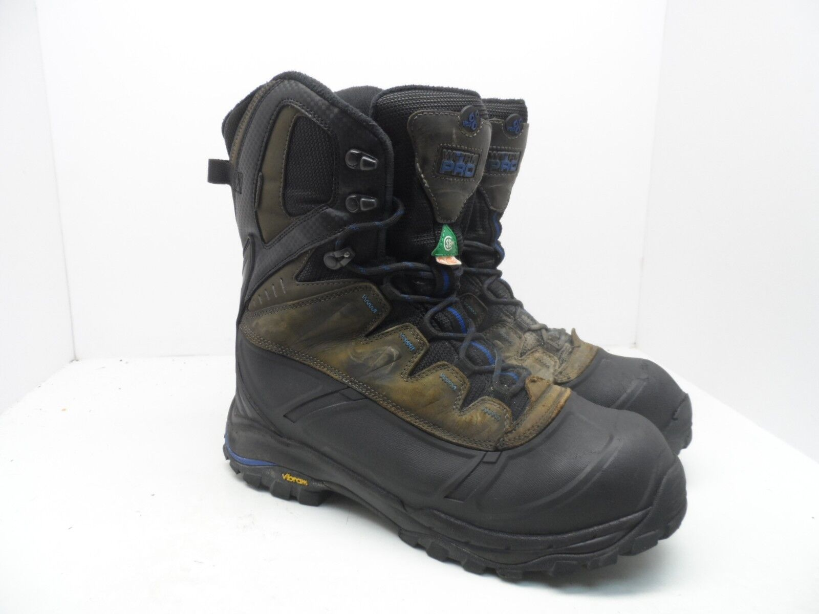"""WORK PRO Men's 8"""" Composite Toe Composite Plate Transitional Work Boots 10 EE"""