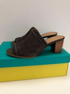 873116f5118 Image is loading NWB-Jack-Rogers-Campbell-Suede-Mules-Size-7M