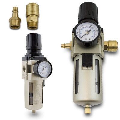 Erfinderisch Bituxx Druckluft Wasserabscheider 1/2 Druckminderer Druckregler Filter Kupplung Ideales Geschenk FüR Alle Gelegenheiten