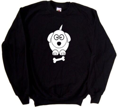 Cartoon Dog Sweatshirt