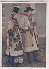Siebenbürgen Trachten Brautpaar aus Windau Nösner Noesner Gau Rumänien Romania