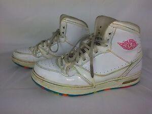 54cb26bc6a248c Nike Air Jordan 1 Classic 91 Size 5Y - White Fruity Pebbles - 384516 ...