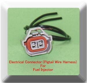 2-Wire-Electrical-Connector-of-Fuel-Injector-Fits-GM-European-Japanese-Vehicles