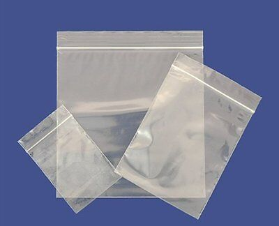 "1.5"" x 2.5"" Small Grip Seal Bags Self Resealable Poly Plastic Clear Zip Lock"