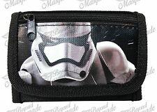 Disney Star Wars The Force Awakens Kids Tri-Fold Wallet Black Stormtrooper