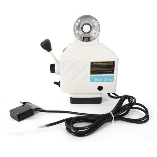 X-Achse Feed-Fräsen Frästischvorschub Vorschubgerät Für Fräsmaschine 220V DE