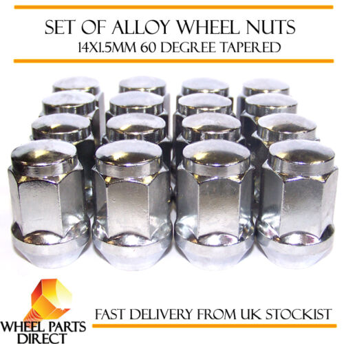 10-15 14x1.5 Bolts Tapered for Ford S-Max 16 Alloy Wheel Nuts Mk2