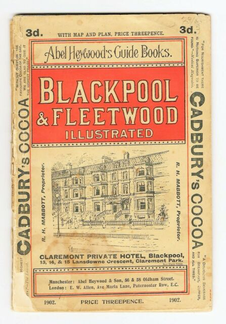 Blackpool Guide Book 1902 by Abel & Heywood 44 Page Softback
