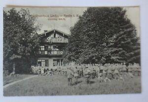 Army-Postal-Service-Schutzenhaus-Lindau-Reutin-World-War-1914-16