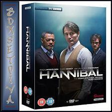 HANNIBAL - COMPLETE SEASONS 1 2 & 3  **BRAND NEW DVD BOXSET*