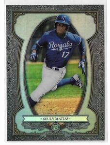 2019 Bowman baseball sterling continuity insert BS-4 Seuly Mattias Kansas City