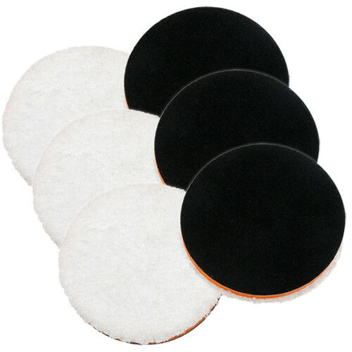 "Lake Country 5.25/"" One Step Light Cutting Microfiber Pad 6 Pack"