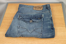 Buffalo David Bitton Men/'s KING-X Slim Stretch Bootcut Ripped Jeans $129 32X30