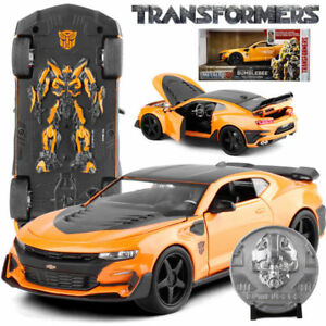 Image Is Loading 1 24 Transformers 5 Blebee Chevy Camaro 2016