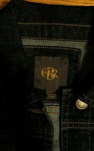 Outback denim Limited foncé indigo bleu exclusif en Manteau Obr à Red 7Fq61w0