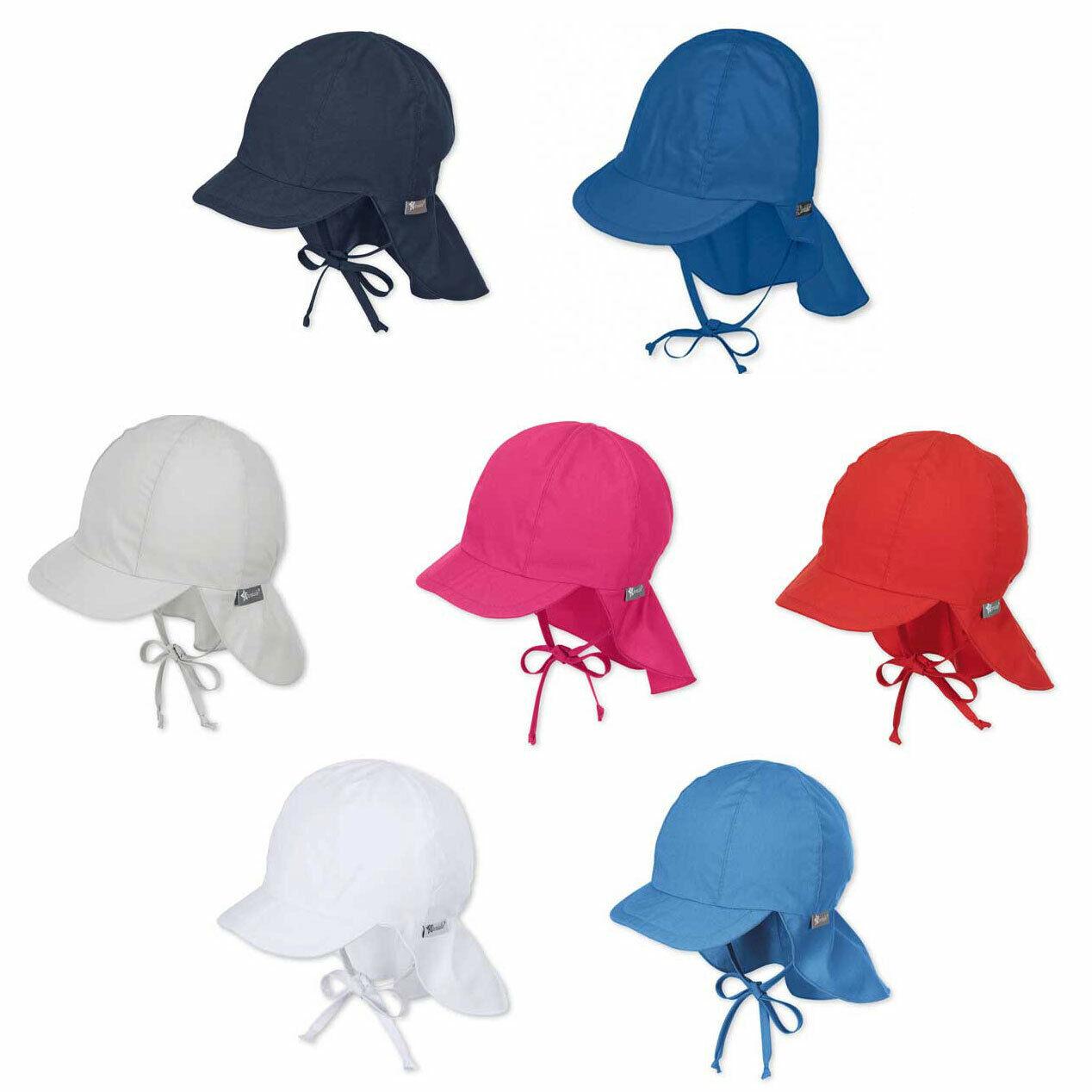 Sommermütze Sterntaler Baby Jungen Wende-Schirmmütze Gr 43-53 UV-Schutz 50