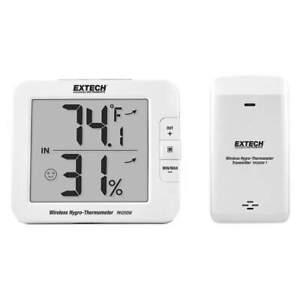 EXTECH RH200W Wireless Thermometer,Digital LCD