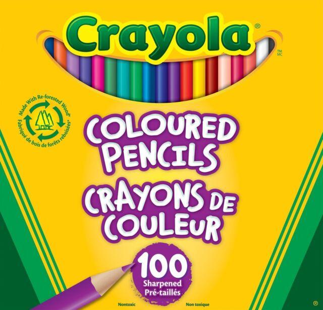 Crayola 100 Coloured Pencils