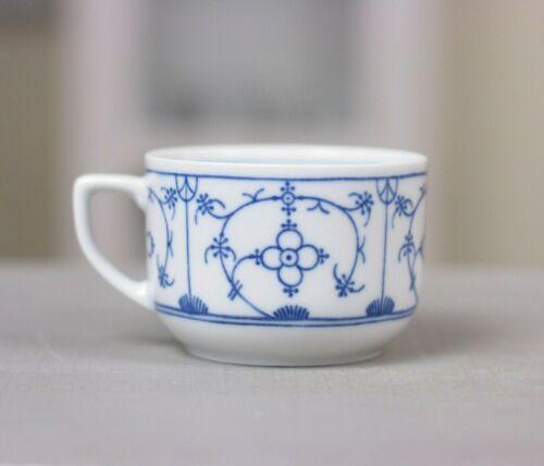 Winterling Teetasse Tasse Kaffeeservice Kanne Strohblume Weiß indisch blau