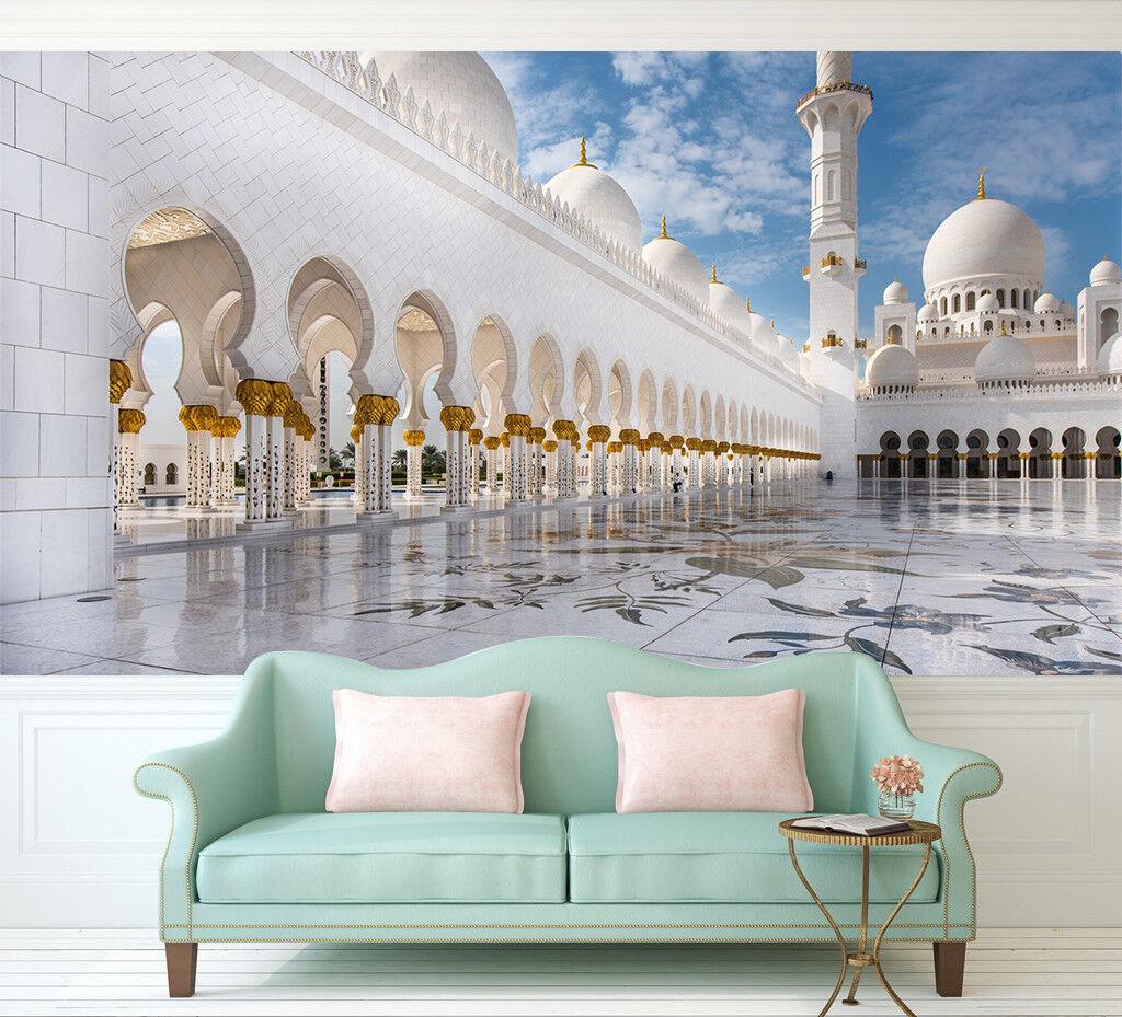 3D Taj Mahal Himmel 794 Tapete Wandgemälde Tapeten Bild Familie DE Lemon