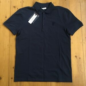3a4132cb Versace Collection Medusa Polo Shirt-Large-Navy Blue-100% Authentic ...