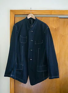 Issey-Miyake-Dark-Blue-Jacket