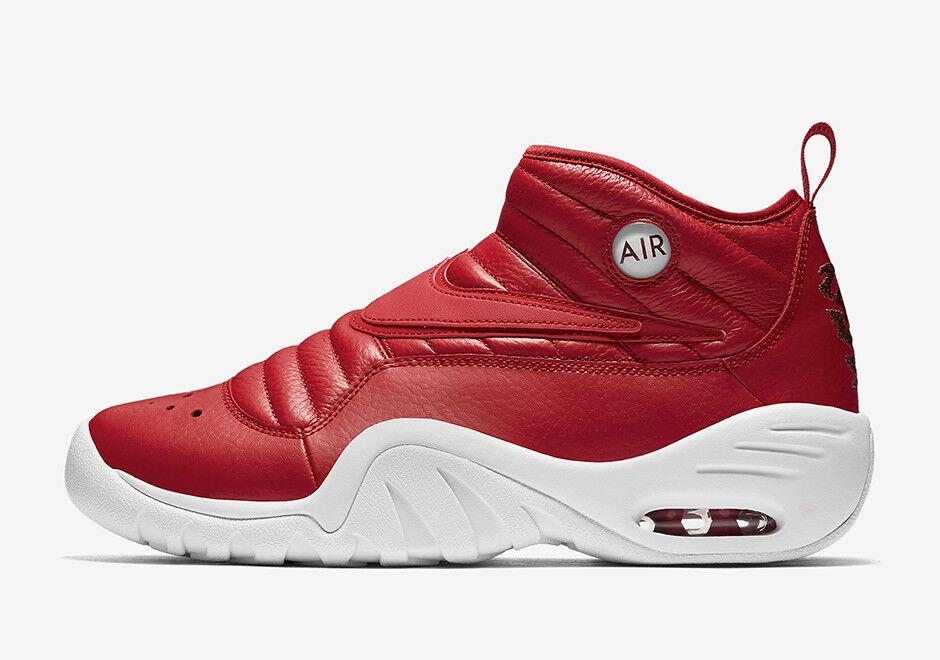 Nike Air Shake Ndestrukt Dennis Rodman Gym Red Men Sz 8 - 12