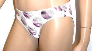 Enthousiaste Freya Slip Bikini 1 Piece Tailles Xs/fr36 & S/fr38 Couleur Imprime Violet 'disco