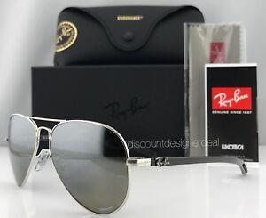 43810cb3cb1 Ray-Ban RB8317CH 003 5J Carbon Sunglasses Silver Mirror Polarized ...