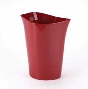 Abfalleimer-Muelleimer-Papierkorb-ORVINO-Umbra-rot-19x22x28-cm-LxBxH