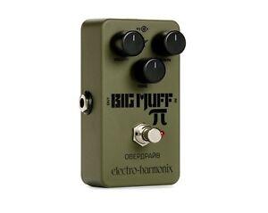 Electro-Harmonix-Nano-Green-Russian-Big-Muff-Distortion-Pedal-NEW-EHX