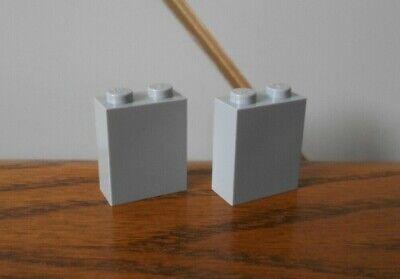 technic LIGHT BLUISH GREY HALF BUSH spare part x2 LEGO Knights/' Kingdom 8822