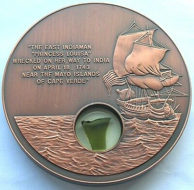Liberia 2001 Princess Louisa 10 Dollars Big Copper Coin,Rare