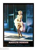 Marilyn Monroe Helnwein Boulevard Of Broken Dreams Original Poster