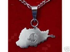 LOOK 0154 Allah Pendant Islam Charm MAP AFGHANISTAN Jewelry