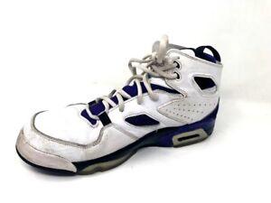 f5ddd1d84fab53 Nike Air Jordan Grape Flight Club 91 Basketball Shoes 555475-108 ...