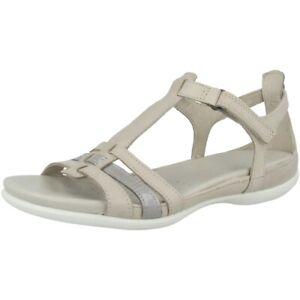 Details zu Ecco Flash Damen Sandale Women Freizeit Schuhe Sandaletten gravel 240873 59759