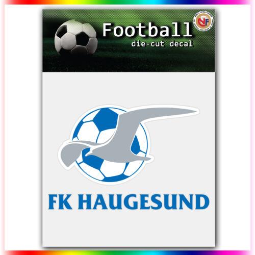 """FK Haugesund UEFA Die Cut Vinyl Sticker Car Bumper Window 2.7/""""x4/"""""""