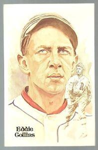 18-EDDIE-COLLINS-Perez-Steele-Hall-of-Fame-Postcard