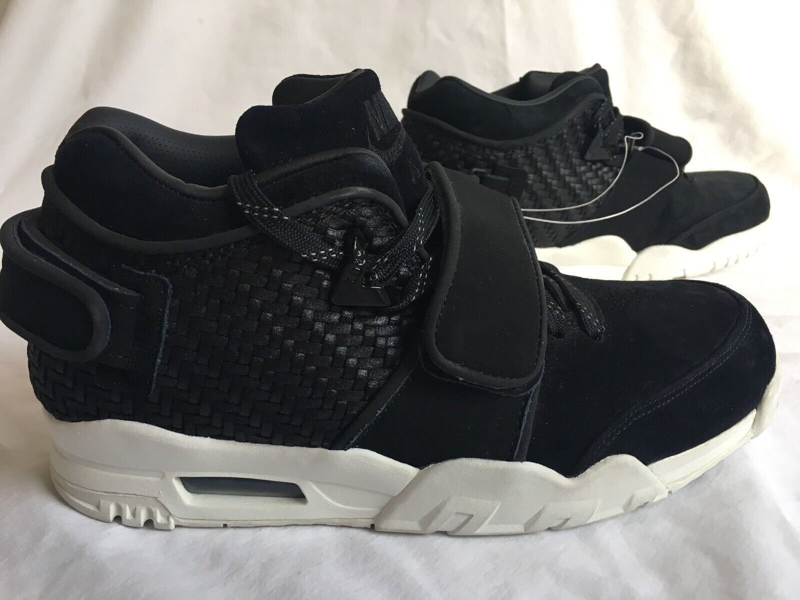 7d3bfe7f85 New Men's Trainer Cruz Black Suede Size 8.5US Nike Air nwnvkj5005-Athletic  Shoes