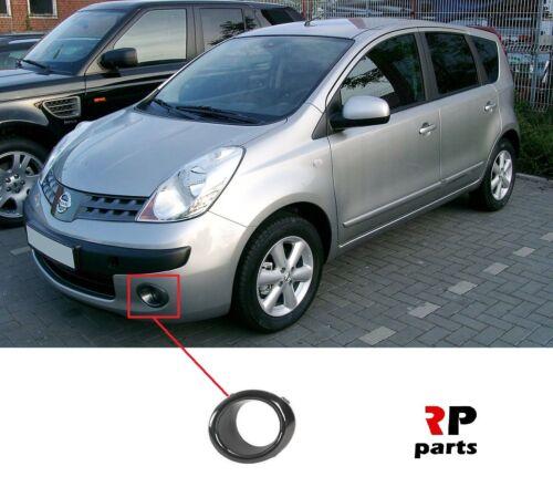 Pour Nissan Note E11 2006-2009 Nouveau Pare-chocs avant Foglight Grill COVER Gauche