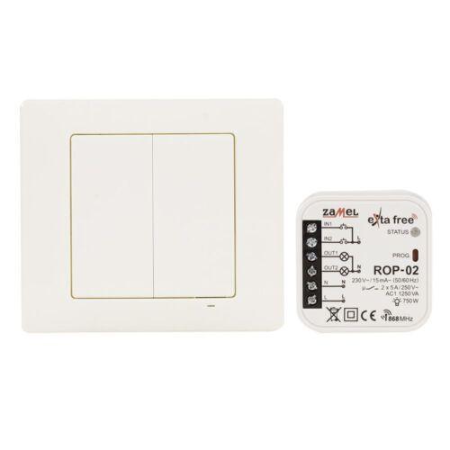 Zamel Wireless steuerungsset iluminación 4-canal transmisor de radio + 2-canal funkempfän
