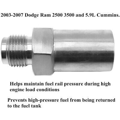 BD DIESEL Common Rail Fuel Plug For  2003-2007 Dodge 5.9L Cummins 1050070