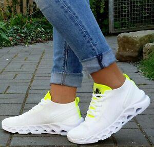 Bullboxer-Schuhe-021002f5T-WHIT-Weiss-White-Damen-Sneaker-Textil-Neu