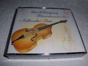 Nussknacker-Suite-Klavierkonzert-1-Streicherserenade-Tschaikowski-2-CDs-OVP