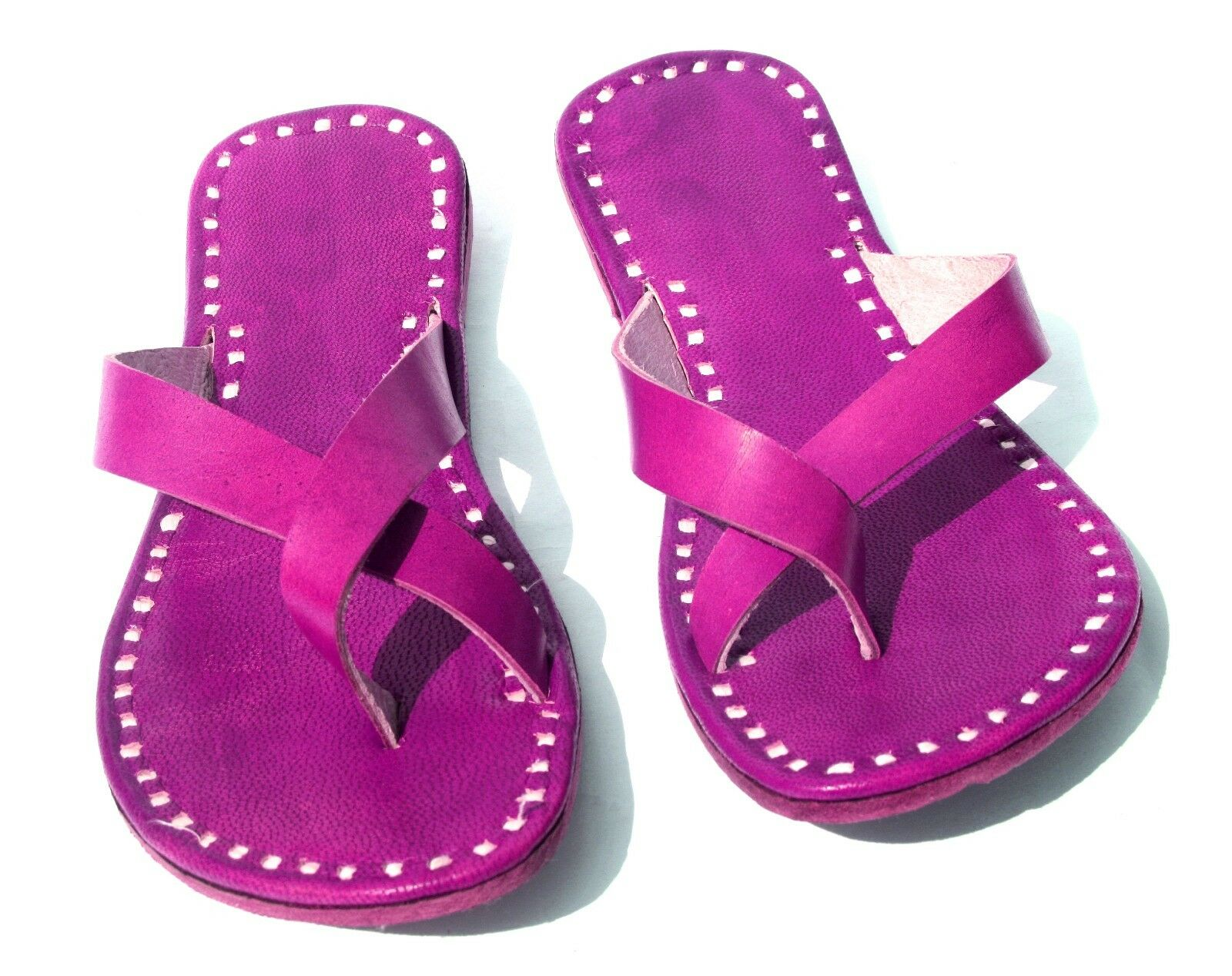 pink womens slippers Leather leather slippers shoes flipflops handmade leather Leather slippers 462f79